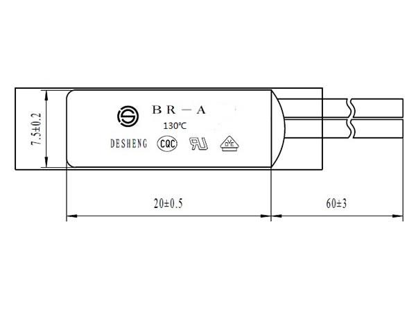 BR-A Motor Thermal Protection Switch